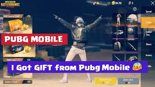 I Got GIFT from pubg mobile( Tencent )🤗 | Early access to 0.8.0 update | good news pubg mobile Hindi