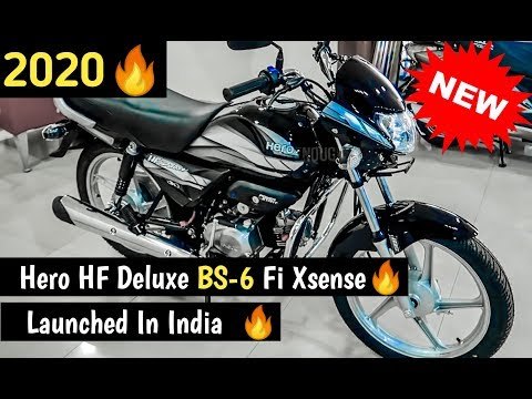 Finally 2020 Hero Hf Deluxe Bs 6 Launched In India Price Details Specification Youtube