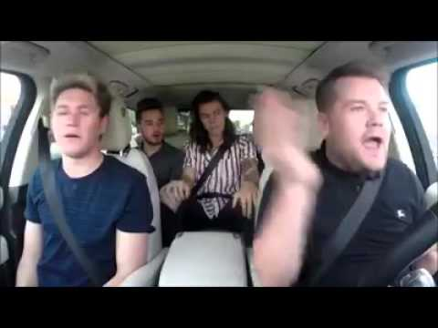 One Direction- Drag me Down (Carpool Karaoke)