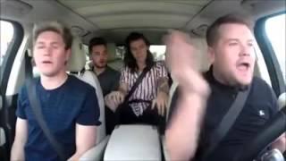 Video One Direction- Drag me Down (Carpool Karaoke) download MP3, 3GP, MP4, WEBM, AVI, FLV Maret 2018