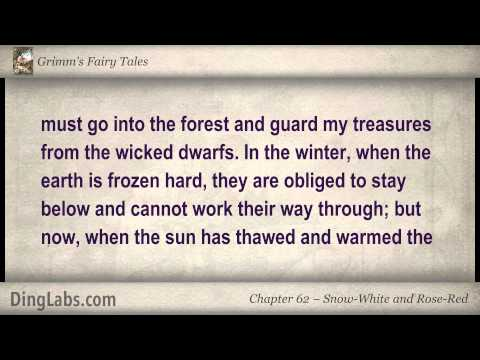 Snow-White and Rose-Red - Grimms Fairy Tales by the Brothers Grimm - 62