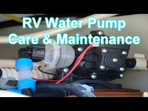 RV Water Pump Care & Maintenance Tips