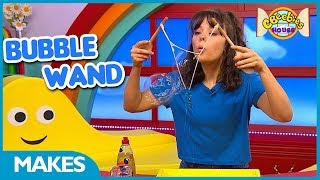How To Make A Bubble Wand   CBeebies Makes