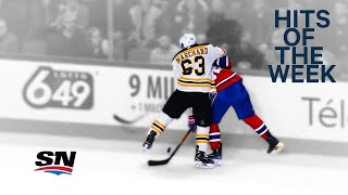 Hits of the Week:  Marchand bulldogs Drouin