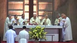 026 Ecce Agnus Dei Solemn Pontifical Mass in Gregorian Chant