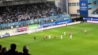 12.09.2015. ЦСКА - Зенит 2:2. Дзагоев не забивает пенальти.