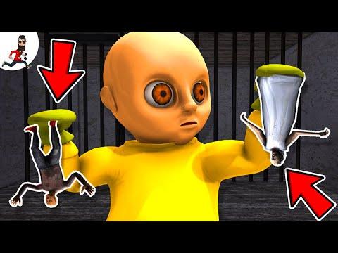Big Yellow BABY vs Granny and Grandpa ★ Funny Animation Granny (parody)