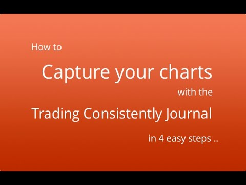 How to quickly capture screenshots using the Trading Consistently Journal.