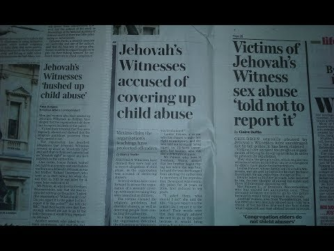 Jehovah's Witnesses and child sexual abuse, in 3 UK newspapers