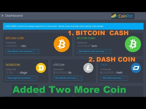 coinpot bitcoin cash)