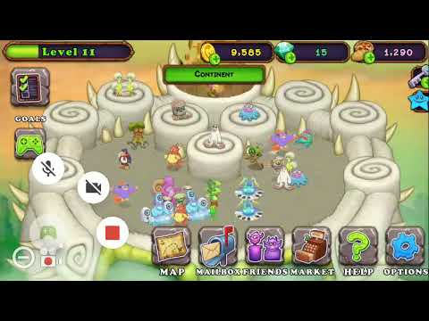 My Singing monsters - Continent (Composer island)