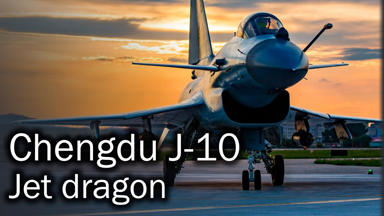 Chengdu J-10 - Chinese multirole fighter aircraft - YouTube
