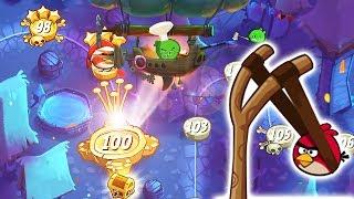 96-99 Уровень. Angry Birds 2 Прохождение злых птичек 2. Видео для детей энгри бердз 2
