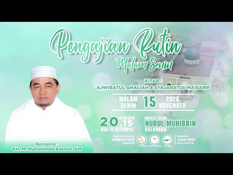 Download Guru M Bakhiet - 2020-11-15 Malam Senin - Kitab Syajaratul Ma'arif MP3 & MP4