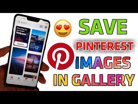 HOW TO SAVE PINTEREST IMAGES IN GALLERY   TOSHIN TECH    👍