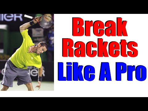 How To Break A Tennis Racket Like A Pro | Free Tennis Lesson