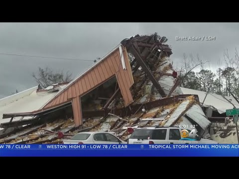 Hurricane Michael's Path Of Destruction In The Panhandle