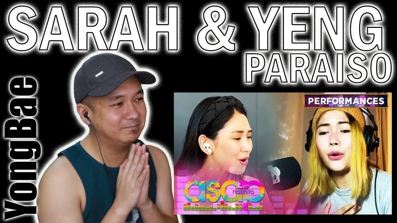 Sarah Geronimo Guidicelli & Yeng Constantino - Paraiso (ASAP Natin To) | YongBae Reactions