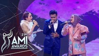 "Gambar cover Ikke Nurjannah, Cita Citata, Fildan ""Terlena"" | AMI AWARDS 2018"