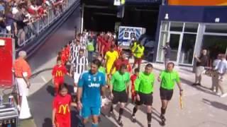 Sadiq Umar cade rovinosamente prima di Juve-Roma di ICC