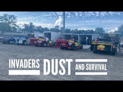 Invaders, Dust and Survival at Orange County Fair Speedway