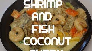 Jamaican Shrimp & Snapper Fish Coconut Curry Recipe