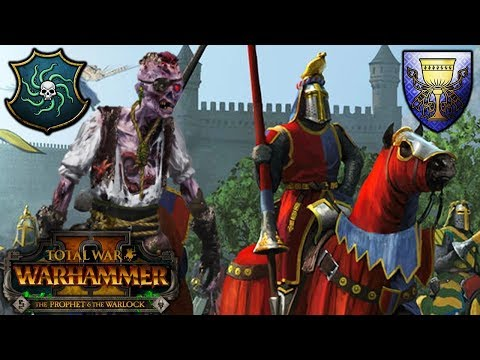 ZOMBIE PIRATES and the MONSTER HUNTER - Vampire Coast vs. Bretonnia - Total War Warhammer 2