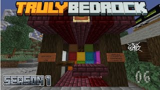 Truly Bedrock Episode 6: Wool world, wool farm, and nether wart farm