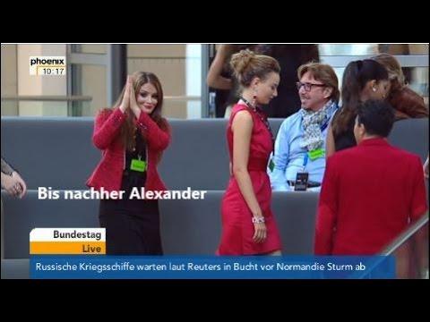 Sexy Bundestag!! Miss-Wahl-Siegerinnen im Bundestag erregen Alexander Dobrindt