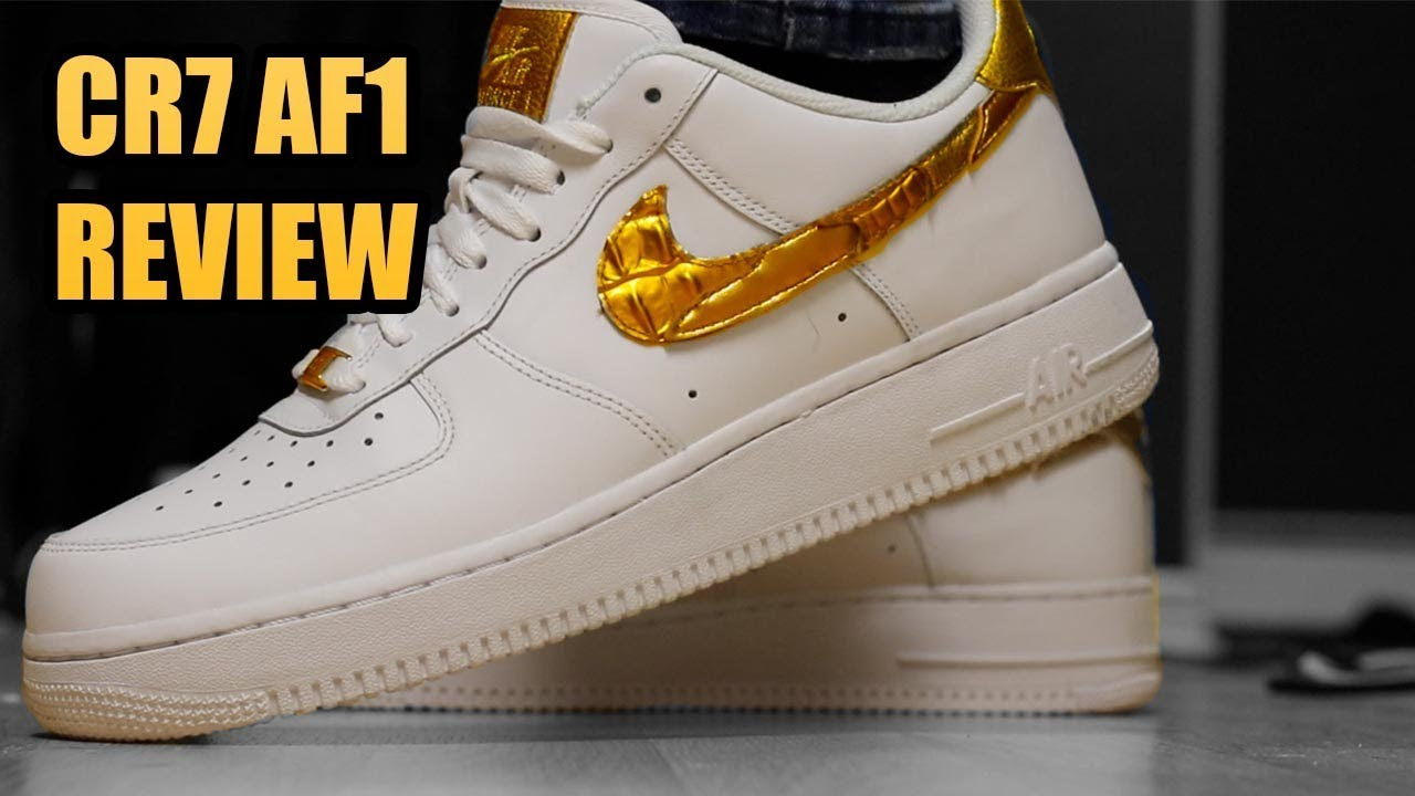 CR 7 AIR FORCE 1 Unboxing Review | AIR FORCE 1 CR7 Review !