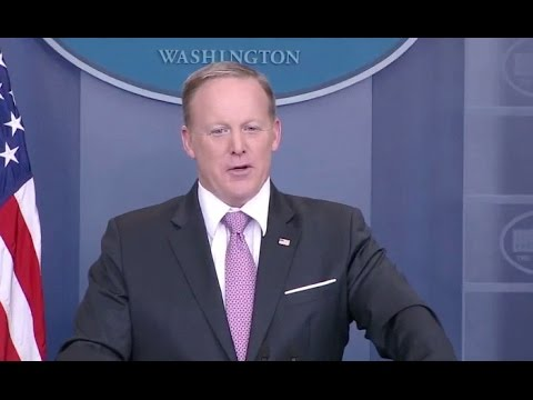 Mar 10, 2017 Sean Spicer White House Briefing - Full Event