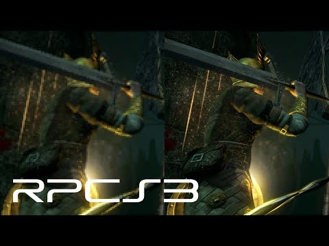 RPCS3 - High Resolution Rendering up to 10K