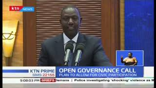 DP William Ruto wants Treasury to public all companies doing business with Kenyan government