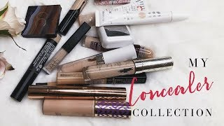 My  Concealer Collection - mature beauty/makeup 50+