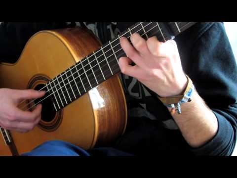 Fallen Leaves - Billy Talent Cover on Classical Guitar