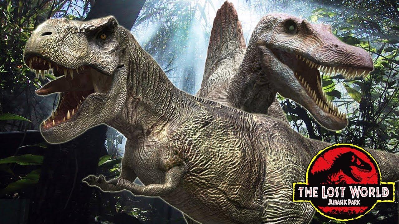 Como muri la familia t rex de jurassic park 2 youtube - Dinosaure de jurassic park ...