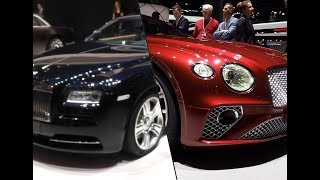 2018 Bentley Continental GT vs. 2017 Rolls Royce Wraith