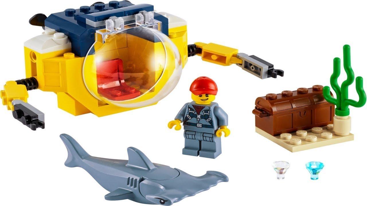 LEGO instructions - City - Deep Sea Explorers - 60263 ...