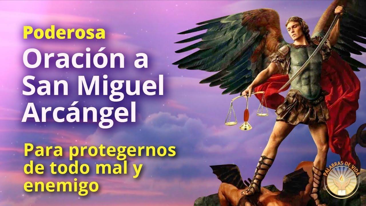 Download ORACION A SAN MIGUEL ARCANGEL para proteccion