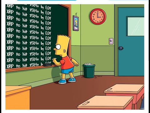 The Simpsons predict XRP $589+ incoming!