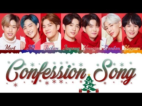 GOT7 - Confession Song (고백송) [Color Coded Lyrics/Han/Rom/Eng/Esp]
