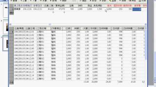 工程業會計軟體,工資管理_Tel:0920939843_阿拉法電腦_計薪表輸入