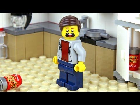 Lego City 4645 Harbour - Lego Speed Build