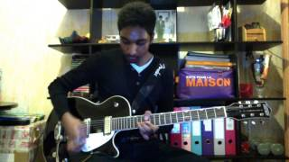 Hillsong Take all of me lead guitar