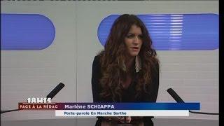 Face à la Rédac : En Marche Sarthe - Marlène Schiappa - 10/02/2017