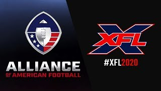 AAF e XFL - Novas Ligas Profissionais de Futebol Americano???