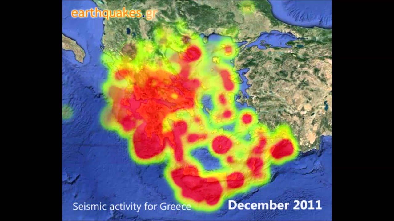 Earthquakes in Greece, most recent earthquakes - earthquakes gr