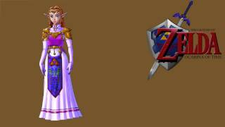 The Legend of Zelda: Ocarina of Time- Zelda