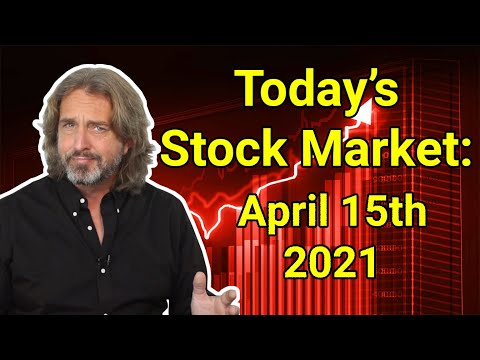 Stock Market Today | April 15, 2021
