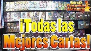 TODAS LAS MEJORES CARTAS DE SUPER DRAGON BALL HEROES EN TIENDA DE JAPÓN!!!